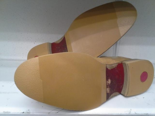 Boty - po opravě