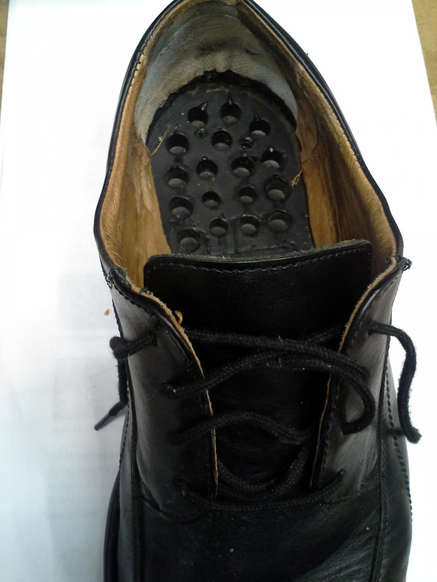 Boty - před opravou